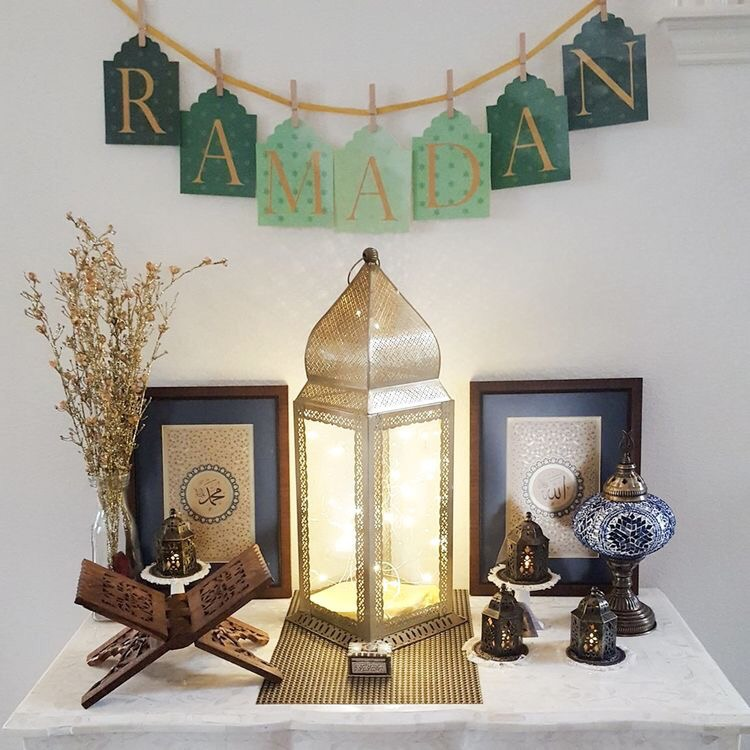 Ramadan and eid decor hijabimommy for Ramadan decorations home